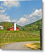 Persimmon Winery Metal Print