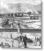 Peru: Chilean Army, 1881 Metal Print
