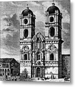 Peru: Jesuit Church, 1869 Metal Print