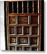 Peruvian Door Decor 18 Metal Print