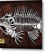 pescado Cuatro Metal Print