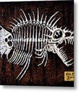 Pescado Dos Metal Print