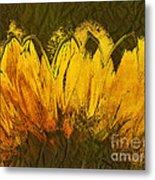 Petales De Soleil - A43t02b Metal Print