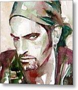 Peter Steele Portrait.6 Metal Print