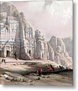 Petra  Metal Print