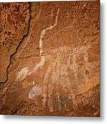 Petroglyph Iv Metal Print