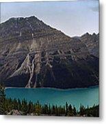 Peyto Lake - Canadian Rocky Mountains Metal Print