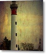 Phare De Ouistreham Or Ouistreham Lighthouse    Caen Metal Print