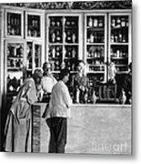 Pharmacy C. 1900 Metal Print
