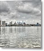 Philadelphia Across The Water Metal Print