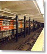 Philadelphia Broadstreet Subway Metal Print