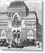 Philadelphia: Museum, 1876 Metal Print