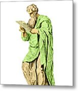 Philippos Of Acarnania, Physician Metal Print