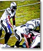 Phillip Rivers Quarterback Metal Print