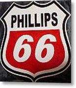 Phillips 66 Metal Print