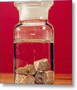 Phosphorus In A Jar Metal Print by Andrew Lambert Photography