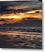 Photographing Sunsets Metal Print
