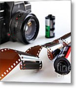 Photography Gear Metal Print