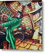 Piano Man 2 Metal Print