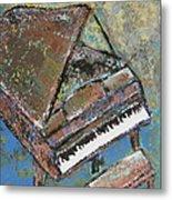 Piano Study 5 Metal Print
