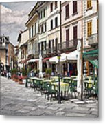 Piazza San Guilio Metal Print