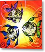 Picasso Fish Three Metal Print