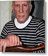 Picasso Metal Print by Sophie Vigneault