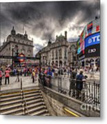 Piccadilly Circus - London Metal Print