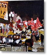 Piccadilly Night Metal Print