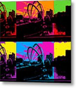 Pick Your Color Metal Print