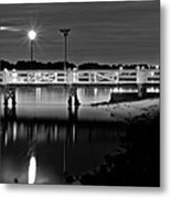 Picketted Jetty Metal Print
