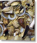 Pickled Mushrooms Metal Print by Michal Boubin
