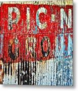 Picnic Ground Metal Print