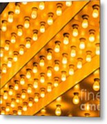 Picture Of Theater Lights Metal Print by Paul Velgos