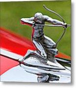 Piere-arrow Hood Ornament Metal Print by Garry Gay