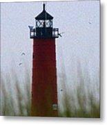 Pierhead Lighthouse Metal Print