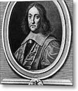 Pierre De Fermat, French Mathematician Metal Print
