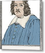 Pierre De Fermat, French Mathematician Metal Print by Science Source