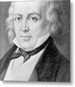 Pierre Jean De Béranger 1780-1857 Metal Print by Everett