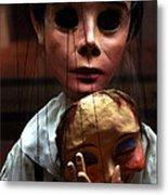 Pierrot Puppet Metal Print