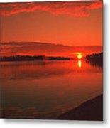 Pierson Lake Sunrise Metal Print