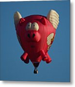 Pigs Do Fly Metal Print