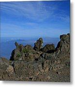 Pihanakalani Haleakala - House Of The Sun - Summit Sunrise Maui Metal Print by Sharon Mau