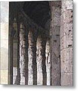 Pilars In Rome Metal Print