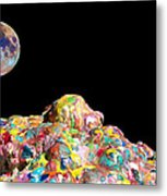 Pile Of Color In Space Two K O Four Metal Print