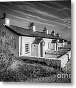 Pilot Cottages Metal Print