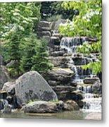 Pine Falls Metal Print