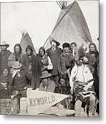 Pine Ridge Reservation Metal Print