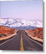 Pine Valley Mountains Metal Print by Adrian Studer