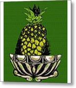 Pineapple Study  Metal Print